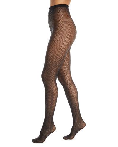 Jennifer Glitter Net Tights