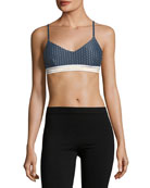Zoe Polka-Dot Sports Bra