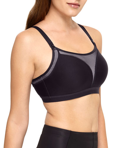 Wire-Free Maternity Sports Bra
