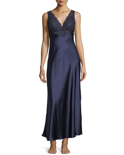 Bijoux Lace-Trim Nightgown