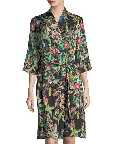 Fleurs De Jungle Robe