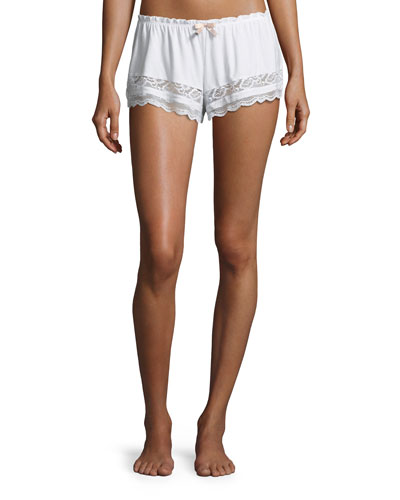 Anouk Lace-Trim Lounge Shorts