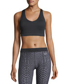 Essential V-Neck Sports Bra