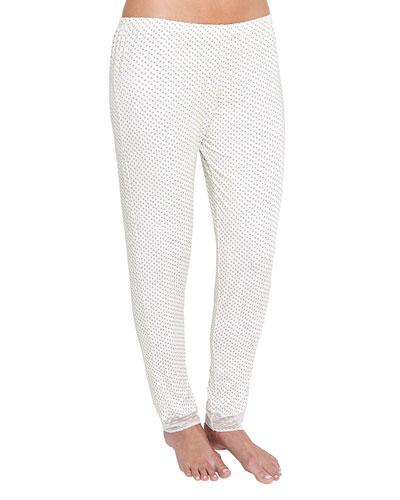 Flora Ditsy Slim Lounge Pants