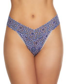 Maria Original-Rise Geometric Lace Thong