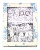 I Do Bridal Thong/Garter Set