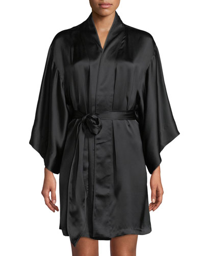 Key Essentials Silk Robe