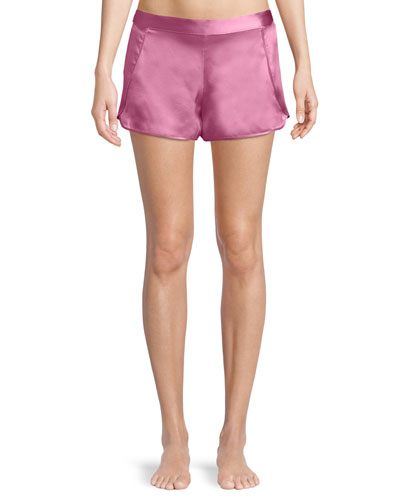 Key Essentials Silk Lounge Shorts