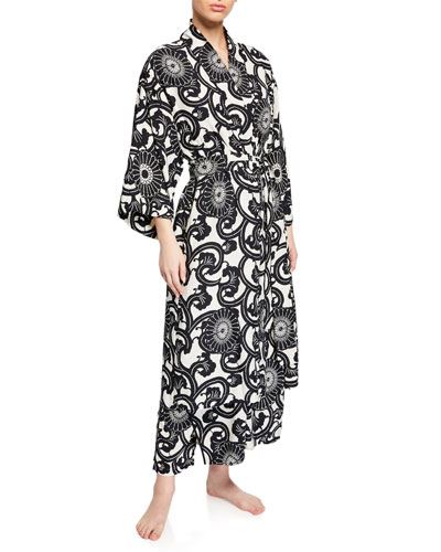 Silk Road Long-Sleeve Robe