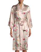 Perennial Silk Robe