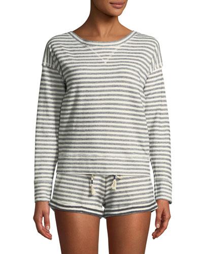 Charlie Striped Sweatshirt