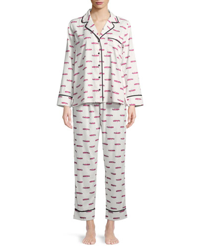 hot rod long pajama set