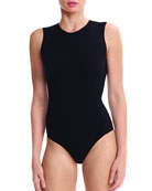 Crewneck Sleeveless Ballet Bodysuit