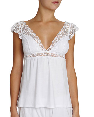 Kiss the Bride Cap-Sleeve Camisole