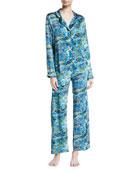 Brindisi Silk Pajama Set