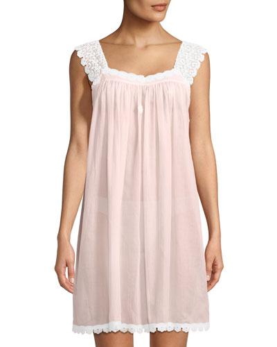 Donata Sleeveless Short Nightgown