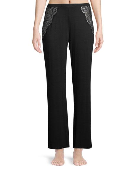 Cosabella Pret-a-Porter Lace-Trim Lounge Pants