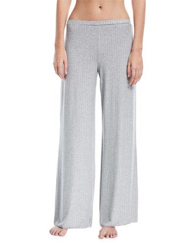 Minimalista Rib-Knit Lounge Pants