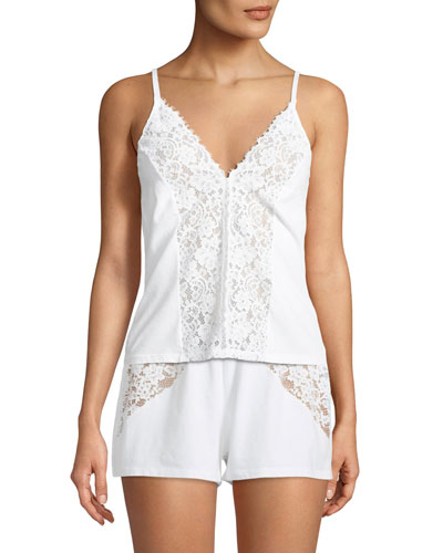 Jazmine Lace-Trim Lounge Camisole
