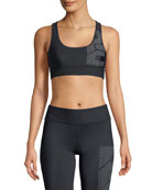 The Hustler Crop Sports Bra
