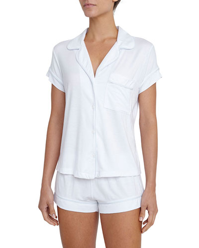 Gisele Boxer-Short Pajama Set