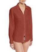 Scout Cotton Lounge Shirt
