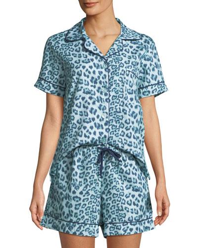 Wild Kingdom Shorty Pajama Set