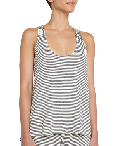 Sadie Stripes Racerback Tank Top