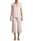 ladybug classic capri pajama set