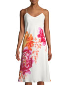 Bali Floral-Print Slip Nightgown