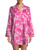 Branche Floral-Print Sleepshirt