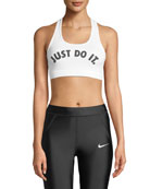Victory Just Do it Racerback Sports Bra
