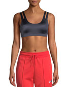 Nike Indy Scoop-Neck Shine Light-Support Sports Bra