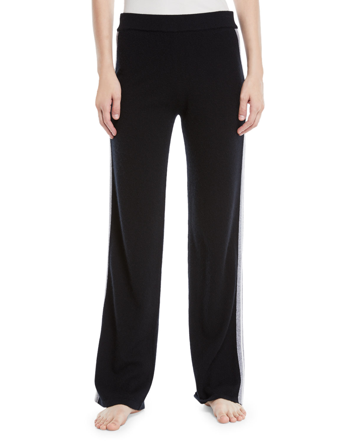 LUXURY CASHMERE TRACK PANTS
