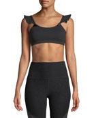 Beyond Yoga Frill Seeker Scoop-Neck Medium-Support Sports Bra