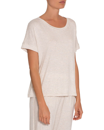 Georgie Striped Lounge T-Shirt