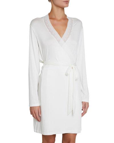 928565bdef Quick Look. Eberjey · Amanda Romantics Lace-Trim Robe