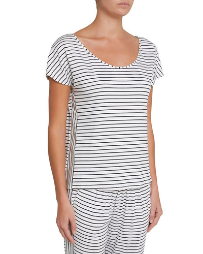 Vega Striped Lounge T-Shirt