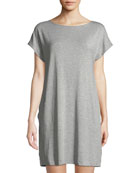 Hanro Natural Elegance Cap-Sleeve Nightgown