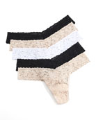Hanky Panky Five-Pack Original-Rise Thongs