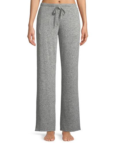 Ulla Brushed Rib-Knit Lounge Pants
