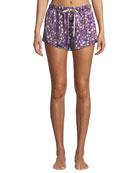 Morgan Lane Dandelion Jayne Silk Pajama Top and
