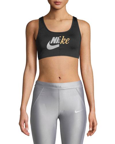 online store de3ad de0ee Quick Look. Nike · Swoosh Futura Mid-Impact Sports Bra
