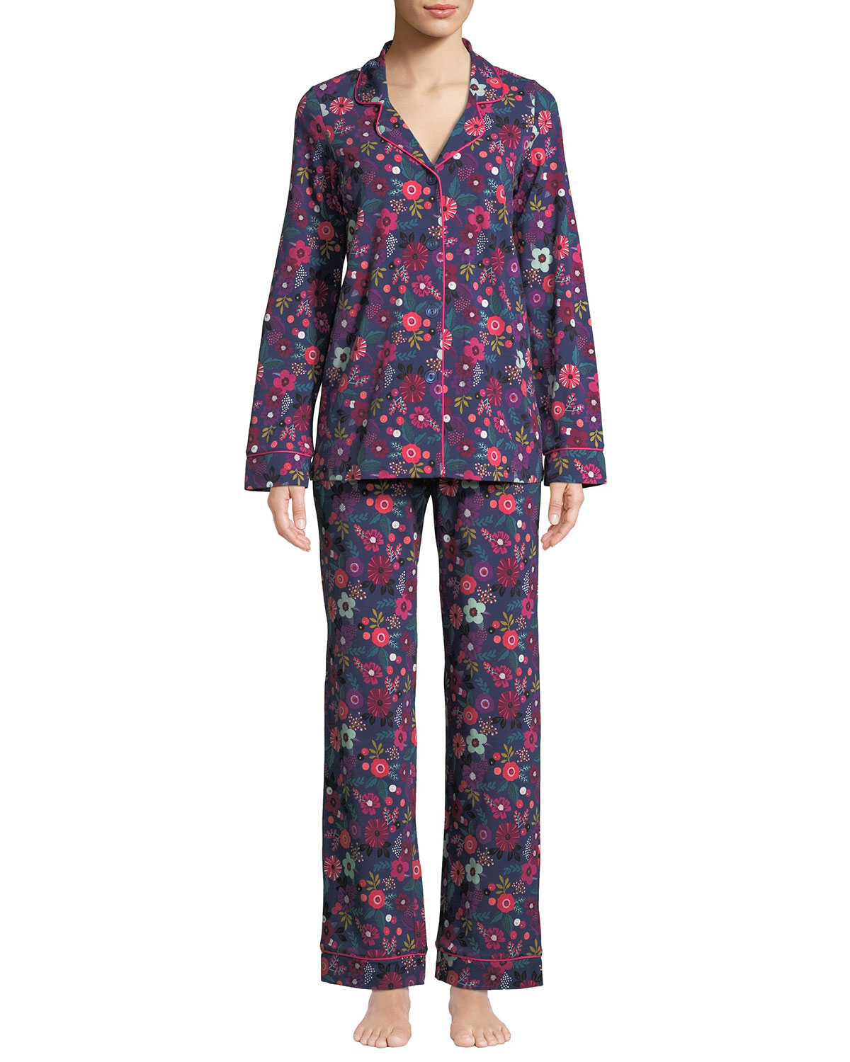 Berries and Blooms Classic Pajama Set