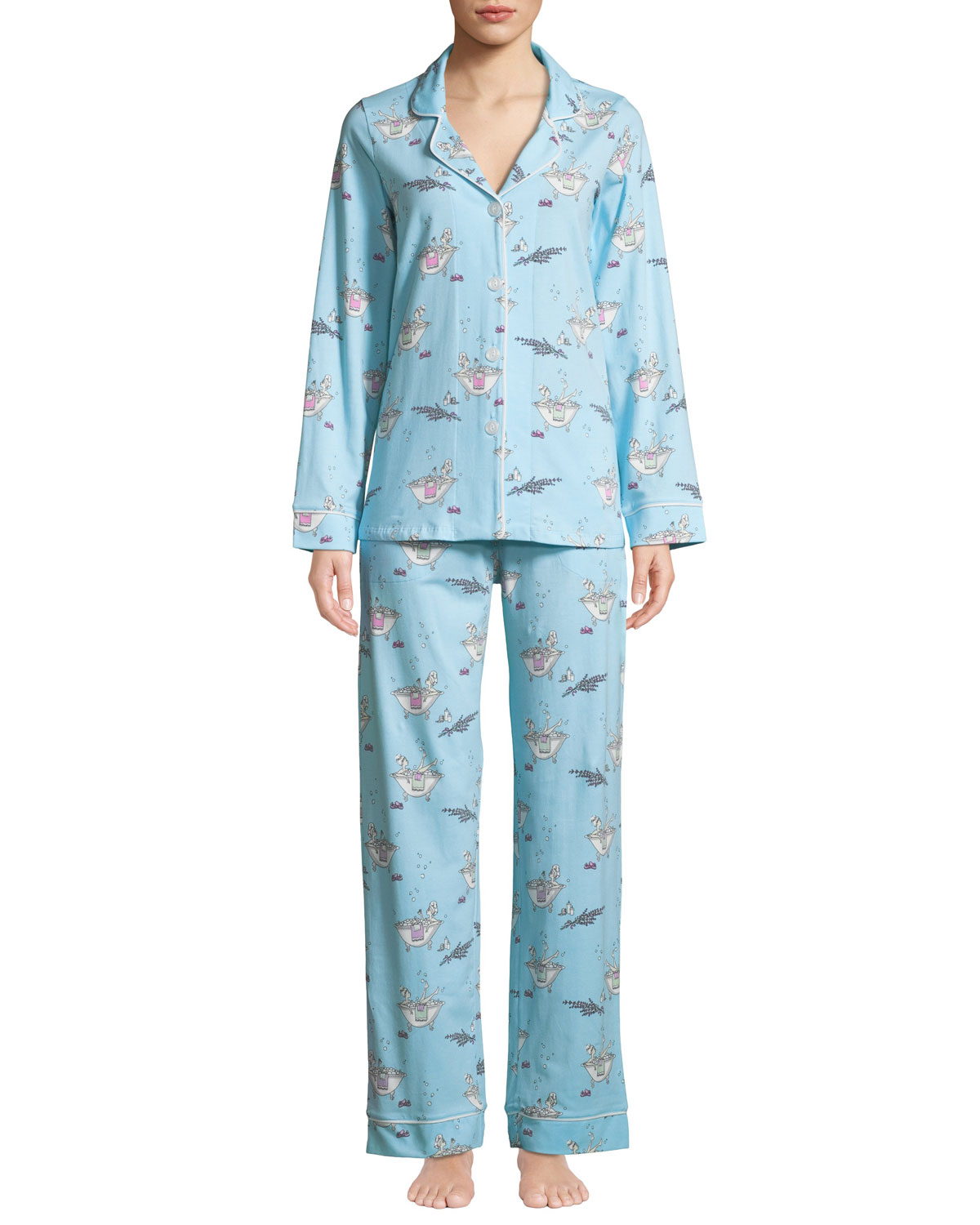 Time To Relax Classic Pajama Set