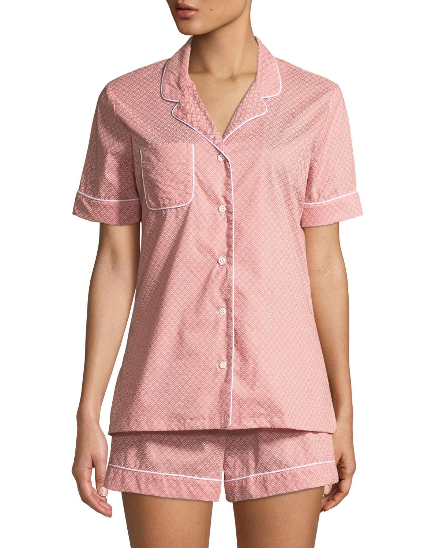 Nelson Cotton Shortie Pajama Set