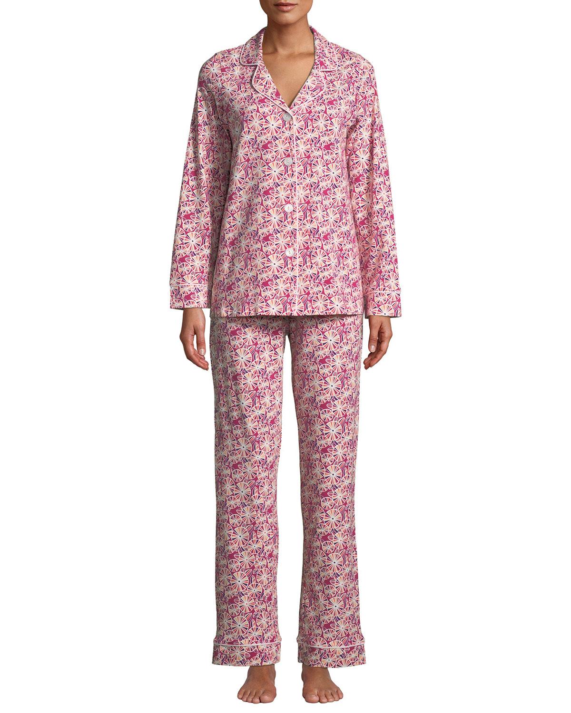 Pinwheel Floral Classic Pajama Set