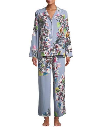 069bc00f8a Quick Look. Natori · Nikko Floral-Print Classic Pajama Set