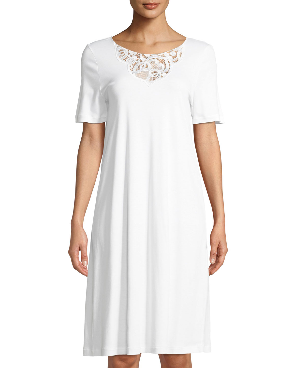 Ella Short-Sleeve Nightdress