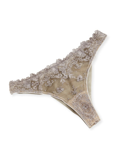 Annabelle Lace Thong